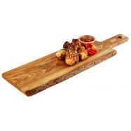 Deska z olivového dřeva 400x150x15 mm