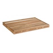 Dřevěné prkénko se zásobníkem 48x34 cm