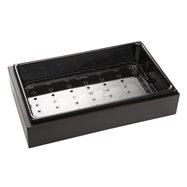 Chladící nádoba na bufet, wenge 530x325x125 mm