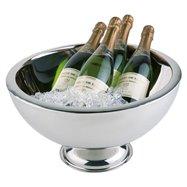 Mísa na šampaňské s dvojitou stěnou ø 440x240 mm