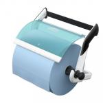 Měrná jednotka: ks. Zásobník je připevněný na speciálním závěsu, což ulehčuje jeho instalaci i demontáž, například při údržbě. Bezpečné a odolné ozubení vyztužené sklolaminátem vhodné pro snadné odtrhávání utěrek z papíru a netkané textilie. Robustní kovová konstrukce zaručuje stabilitu při odebírání.