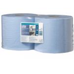 Měrná jednotka: bal. Utěrka TORK Advanced 420 je určena k většímu mechanickému namáhání, na utírání mastnot, olejů a barev. Hodí se do provozů s vyšší spotřebou, vhodná pro utírání sítotisku. Dvouvrstvá utěrka TORK v modré barvě je vyrobena z hybrid papíru (jedna vrstva prvotřídní recykl, druhá vrstva TAD papír).