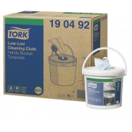 Tork Low-lint čistící utěrka – kbelík s rolí
