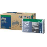 Tork Premium 530 modrá - Top Pack, skládaná, 100 ks