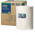 Měrná jednotka: role. Utěrka s malým vlákněním, ideální pro prostředí citlivé na prach. Pevný materiál znamená odolnost a opakované využití bez roztrhání. Jemný textilní povrch umožňuje precizní čištění. Může být použita za sucha i za mokra.