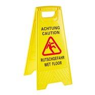 """Výstražná značka """"Pozor Mokrá podlaha"""" 30 x 63 cm"""