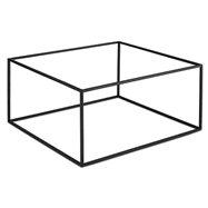 Bufetový podstavec pod nádoby, černý gn 1/3 nebo gn 2/3