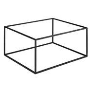 Bufetový podstavec pod nádoby, černý gn ½ nebo gn 1/4