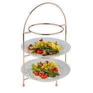 Bufetový stojan na 3 talíře 29x19,5x43 cm