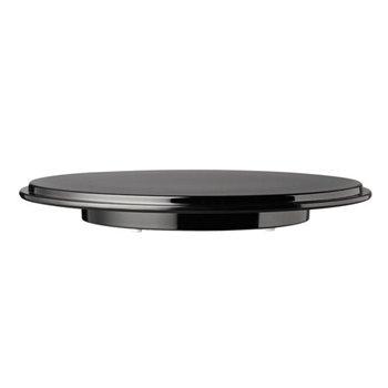 Tác černý na zákusky a dorty ø 310 mm, melamin