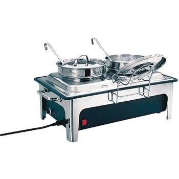 Elektrický chafing pro kotlíky na polévku 2 x 4 l