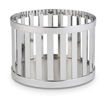 Kulatý kovový košík Ø 15 cm, chrom
