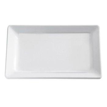 Mísa obdélníková z melaminu 265x162 mm, bílá