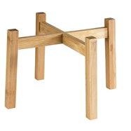 Dřevěný podstavec pod dávkovač nápojů 23x23 cm