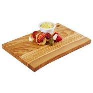 Deska z olivového dřeva 300x205x20 mm