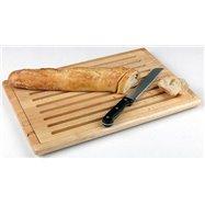 Pracovní deska na krájení pečiva se zásuvkou na drobky 475x320x20 mm