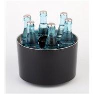 """Cooler na 6 láhvi """"sieger design"""", černý"""