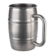 Nerezový džbánek na pivo 0,5 l