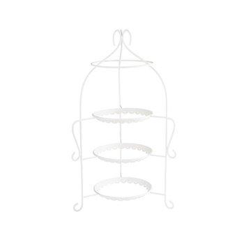 Stojan na tři talíře ø300x540 mm, bílý