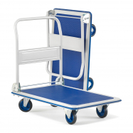 Skládací plošinový vozík Fold, nosnost 300 kg, 905x610 mm