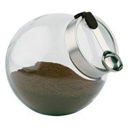 Skleněná nádoba s lžičkou ø 200x180 mm