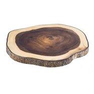 Dřevěné prkénko na servírování, akát, 30 x 28,5 cm