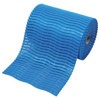 Modrá bazénová rohož Soft-Step - délka 15 m, šířka 60 cm a výška 0,9 cm