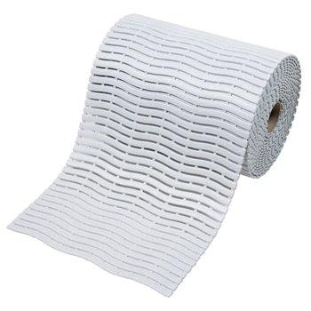 Bílá bazénová rohož Soft-Step - délka 15 m, šířka 60 cm a výška 0,9 cm