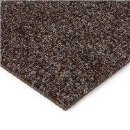 Tmavě hnědá kobercová čistící zóna FLOMA Catrine - délka 50 cm, šířka 100 cm a výška 1,35 cm