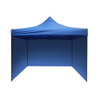 Párty stan STANDARD - 2m x 2m - modrý