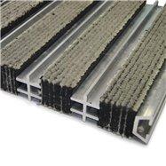 Textilní hliníková vnitřní vstupní rohož FLOMA Hardmat - délka 60 cm, šířka 260 cm a výška 1,8 cm