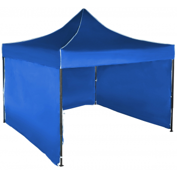 Párty stan STANDARD - 3m x 3m - modrý