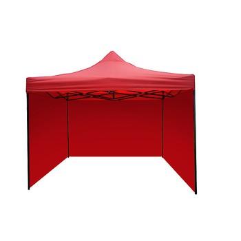 Párty stan STANDARD - 3m x 3m - červený
