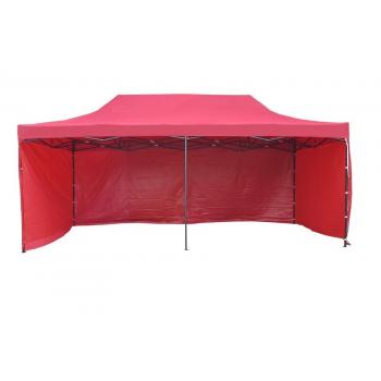 Párty stan STANDARD - 3m x 6m - červený