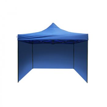 Párty stan HOBBY - 3m x 3m - modrý