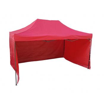 Párty stan HOBBY - 3m x 4,5m - červený