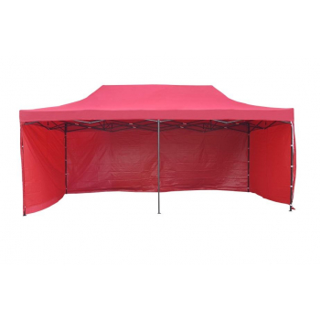 Párty stan HOBBY - 3m x 6m - červený