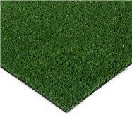 Zelená plastová čistící zóna FLOMA Grace - délka 100 cm, šířka 100 cm a výška 0,9 cm