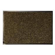 Hnědá textilní vnitřní čistící antibakteriální vstupní rohož - délka 240 cm, šířka 120 cm a výška 0,9 cm