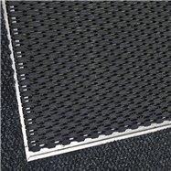 Hliníkový rám pro plastovou vstupní rohož Helix pro povrchovou montáž - šířka 5 cm a výška 1,1 cm