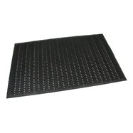 Gumová děrovaná čistící vstupní rohož FLOMA Waves - délka 90 cm, šířka 150 cm a výška 1,2 cm