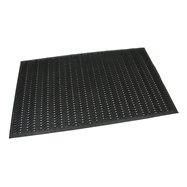 Gumová neděrovaná čistící vstupní rohož FLOMA Waves - délka 90 cm, šířka 150 cm a výška 1,2 cm