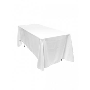 Ubrus na hranatý  stůl 325x325 cm, bílý