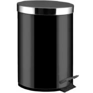 Odpadkový koš pedálový ALDA Freedom 5 l, černý