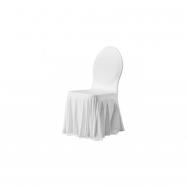 SIESTA - potah na židli, bílý