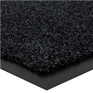 Černá vnitřní čistící vstupní rohož FLOMA Briljant (Bfl-S1) - délka 80 cm, šířka 120 cm a výška 0,9 cm