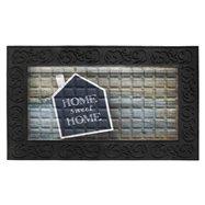 Vnitřní čistící vstupní rohož FLOMA Venga Home Sweet Home - délka 45 cm, šířka 75 cm a výška 0,6 cm