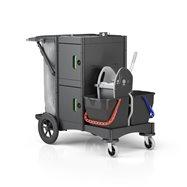 Ekologický úklidový vozík BRIX SCHOOL BIG OUTDOOR ASS