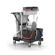 Ekologický úklidový vozík BRIX LIGHT BIG SLIM OFFICE NAS