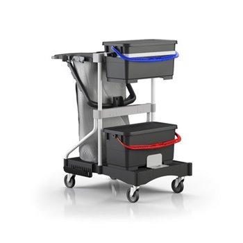Ekologický úklidový vozík BRIX LIGHT BIG SLIM PT NAS
